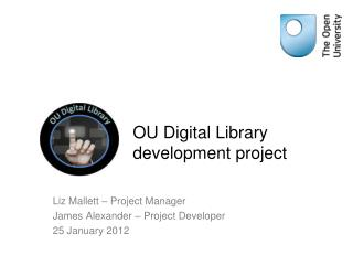 OU Digital Library development project