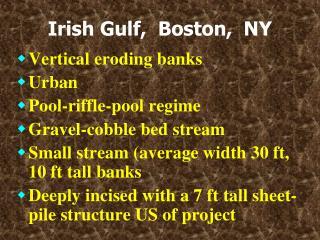 Irish Gulf,  Boston,  NY