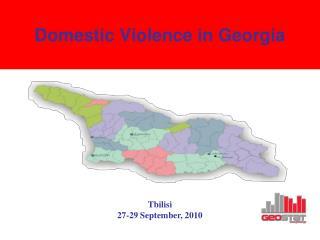 Domestic Violence in Georgia