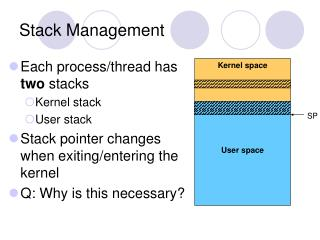 Stack Management