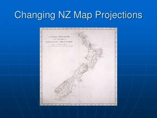 Changing NZ Map Projections