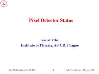 Pixel Detector Status