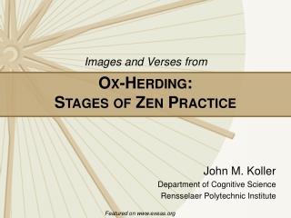 O X -H ERDING :  S TAGES OF  Z EN  P RACTICE