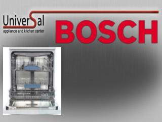 Bosch Dishwasher - History and Features of Dishwasher Applia