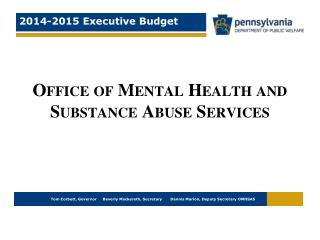 Office of Mental Health and Substance Abuse Services