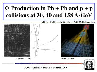 Production in Pb + Pb and p + p collisions at 30, 40 and 158 A�GeV