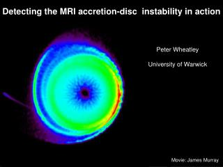 Detecting the MRI accretion-disc  instability in action