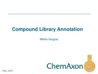 Compound Library Annotation