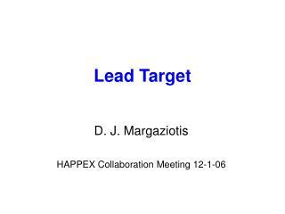 Lead Target