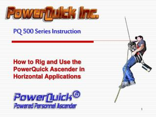 PQ 500 Series Instruction