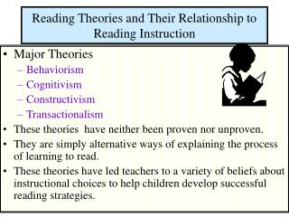 Reading Theories and Their Relationship to Reading Instruction
