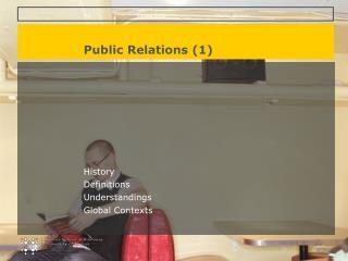 Public Relations (1)