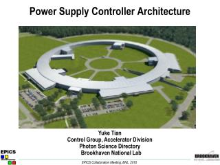 Power Supply Controller Architecture
