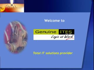 Total IT solutions provider