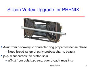 Silicon Vertex Upgrade for PHENIX