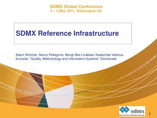 SDMX Reference Infrastructure