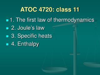 ATOC 4720: class 11