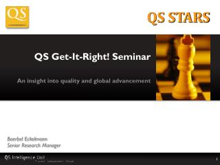 QS Get-It-Right! Seminar