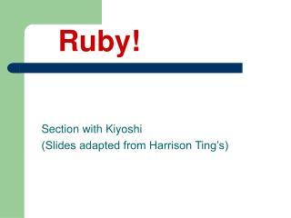 Ruby!