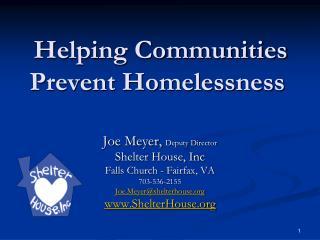 Helping Communities Prevent Homelessness