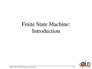 Finite State Machine: Introduction