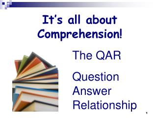 It s all about Comprehension
