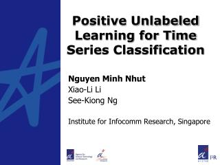 Positive Unlabeled Learning for Time Series Classification