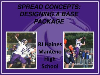 SPREAD CONCEPTS: DESIGNING A BASE PACKAGE