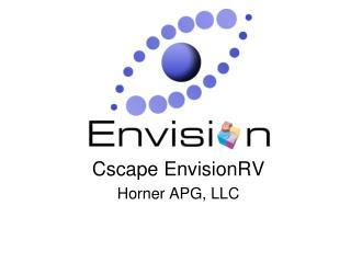 Cscape EnvisionRV Horner APG, LLC