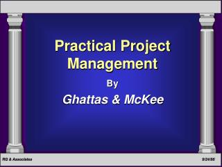Practical Project Management By Ghattas & McKee