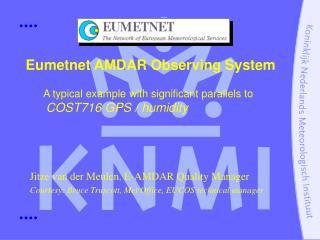 Eumetnet AMDAR Observing System
