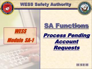 WESS  Module  SA-1