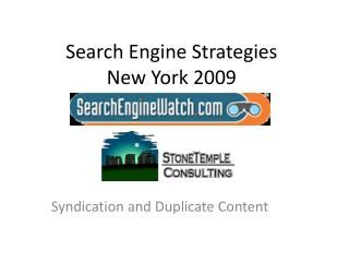 Search Engine Strategies New York 2009