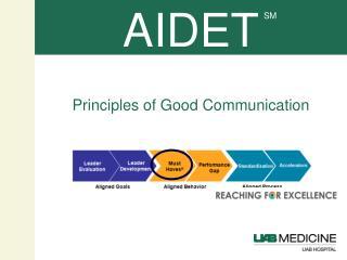 Principles of Good Communication