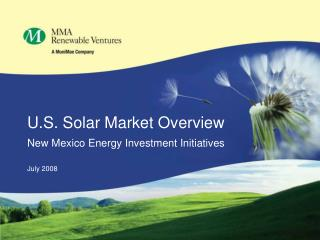 U.S. Solar Market Overview