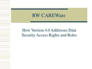 RW CAREWare