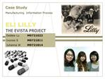 THE EVISTA PROJECT