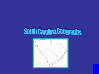 South Carolina Geography