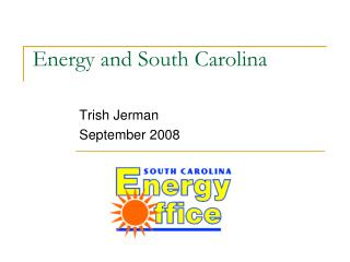 Energy and South Carolina