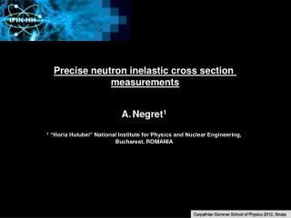 Precise neutron inelastic cross section  measurements