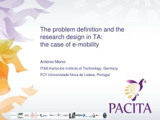 The problem definition and the research design in TA:  the case of e-mobility