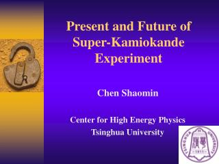 Present and Future of Super-Kamiokande Experiment