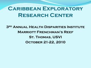 Caribbean Exploratory Research Center