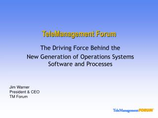 TeleManagement Forum