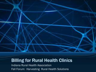 Billing for Rural Health Clinics