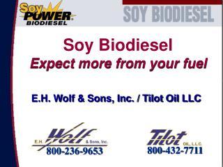 E.H. Wolf  Sons, Inc.