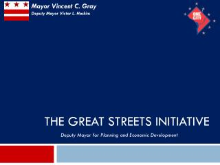 The Great Streets initiative