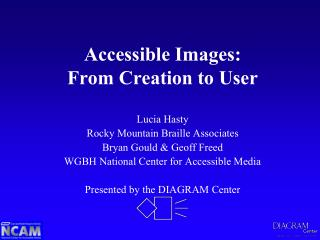Accessible Images: From Creation to User