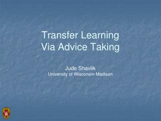 Transfer Learning  Via Advice Taking