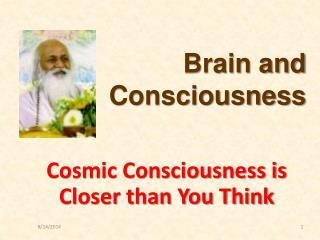 Brain and Consciousness